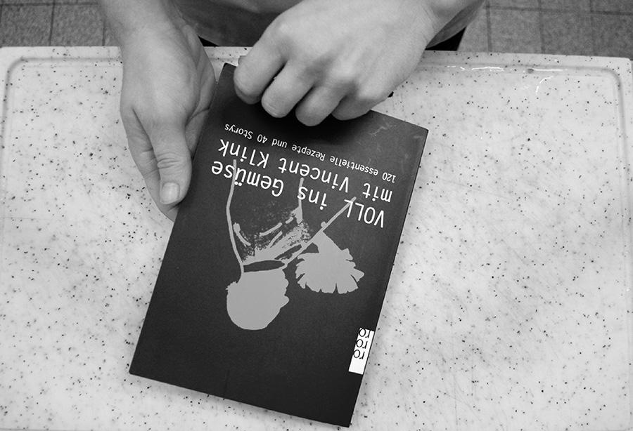 Zuerst der Blick ins Buch und Rezept raussuchen.